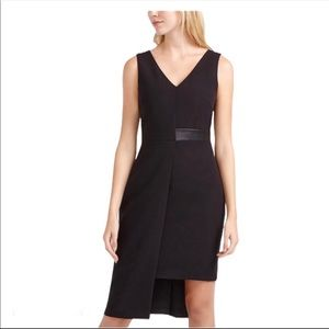 Willow & Thread black asymmetrical dress Sz 14